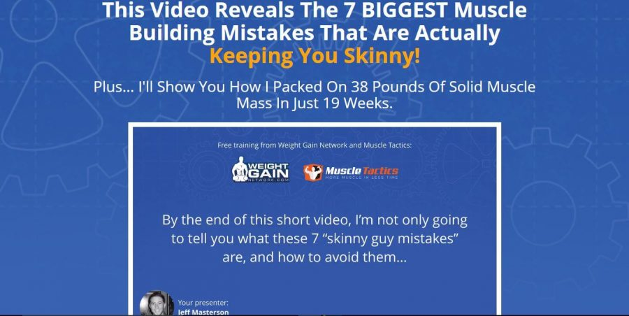 Gain weight now with Weight Gain Blueprint