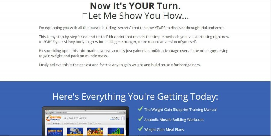 Now it's your turn to know how to gain weight