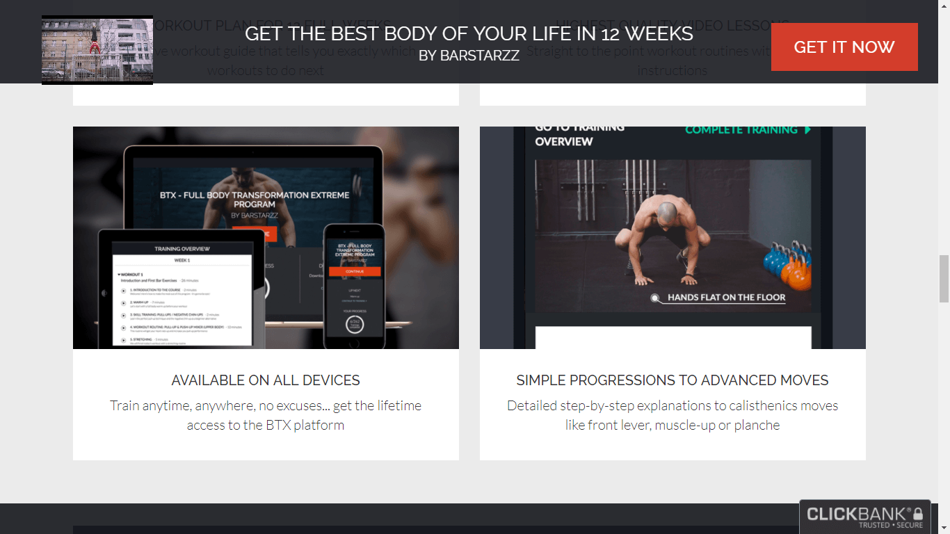 Get The Best Body Of Your Life In 12 Weeks
