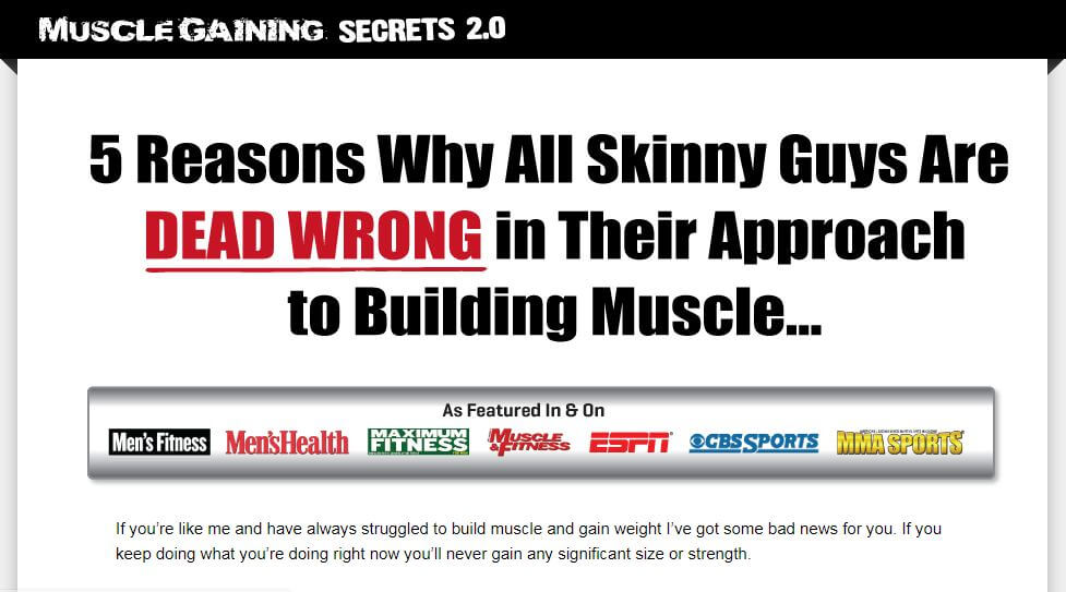Do the right approach to muscle building and your hard work will pay off.