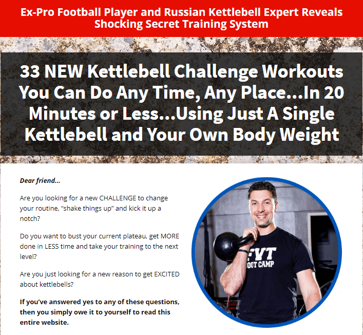 The Ultimate Kettlebell Challenge Workouts Review