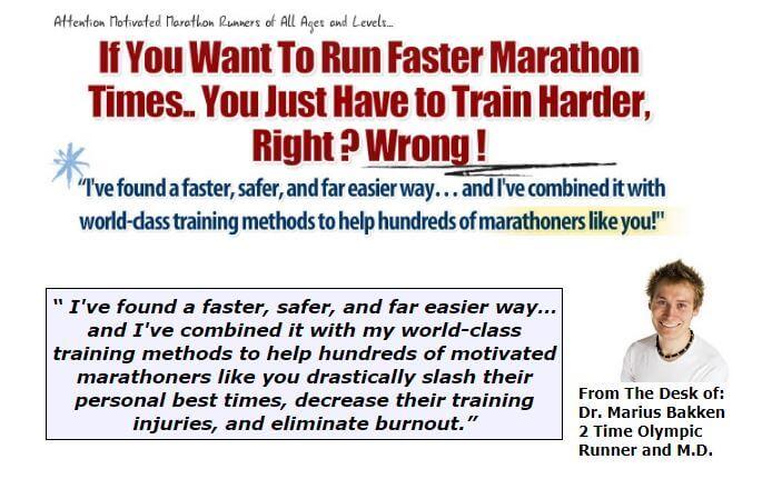 Website of 100 Day Marathon Plan