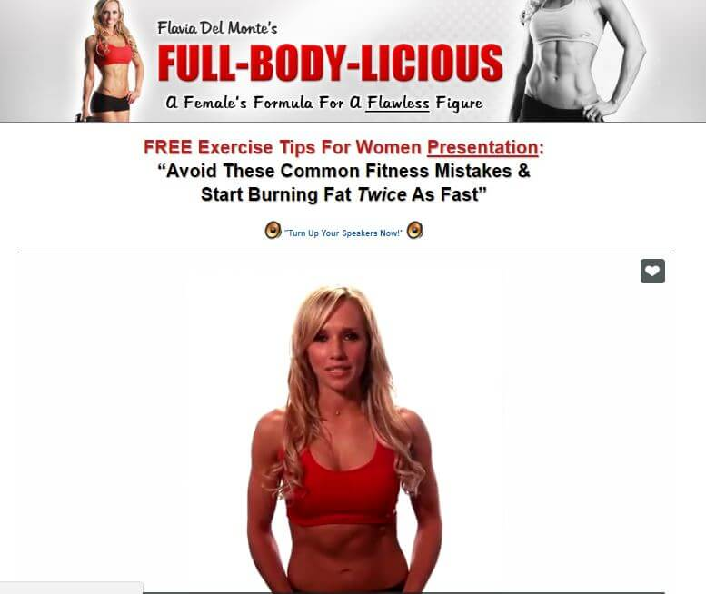 Website of full body licious