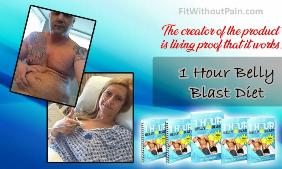 1 Hour Belly Blast Diet The Creator Of The Product Is Living Proof