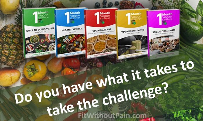1 Month Vegan Challenge module