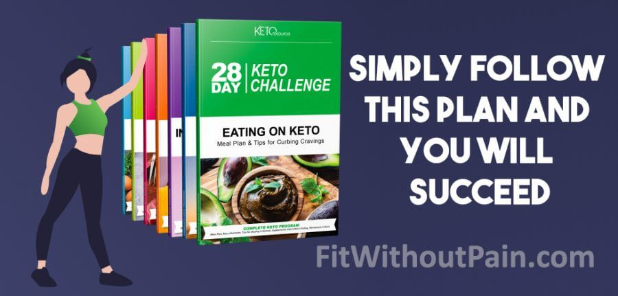 28 Day Keto Challenge Follow the Plan and you will Succeed
