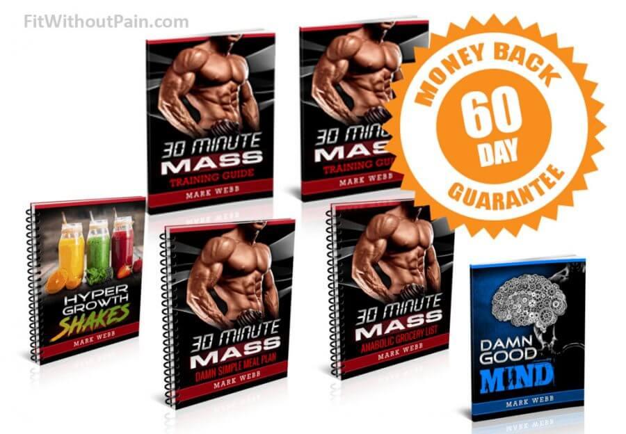 30 Minute Mass 60 day Money Back Guarantee