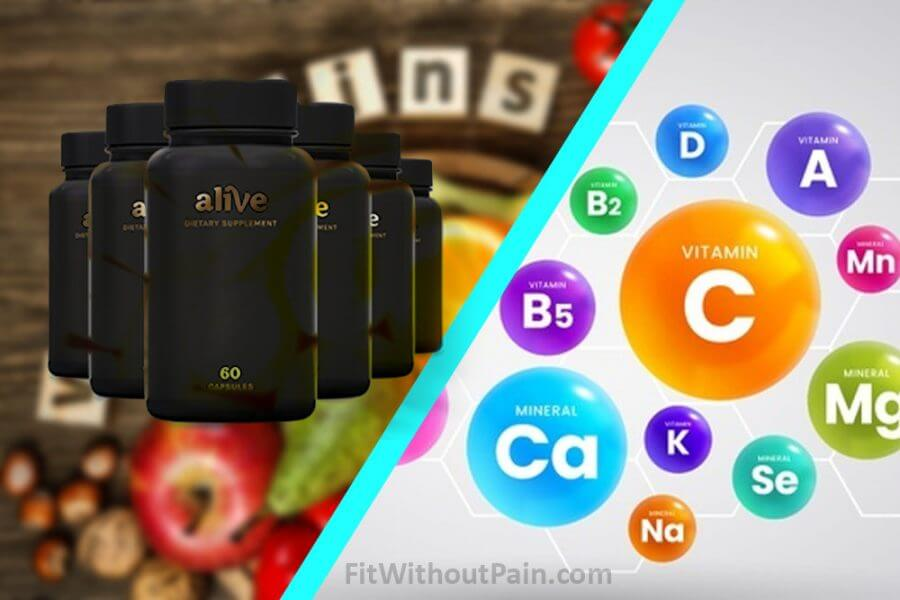 Alive Vitamins and Minerals