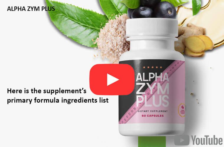 Alpha Zym Plus Dietary Supplement