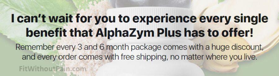 Alpha Zym Plus Experience every Single Benefit