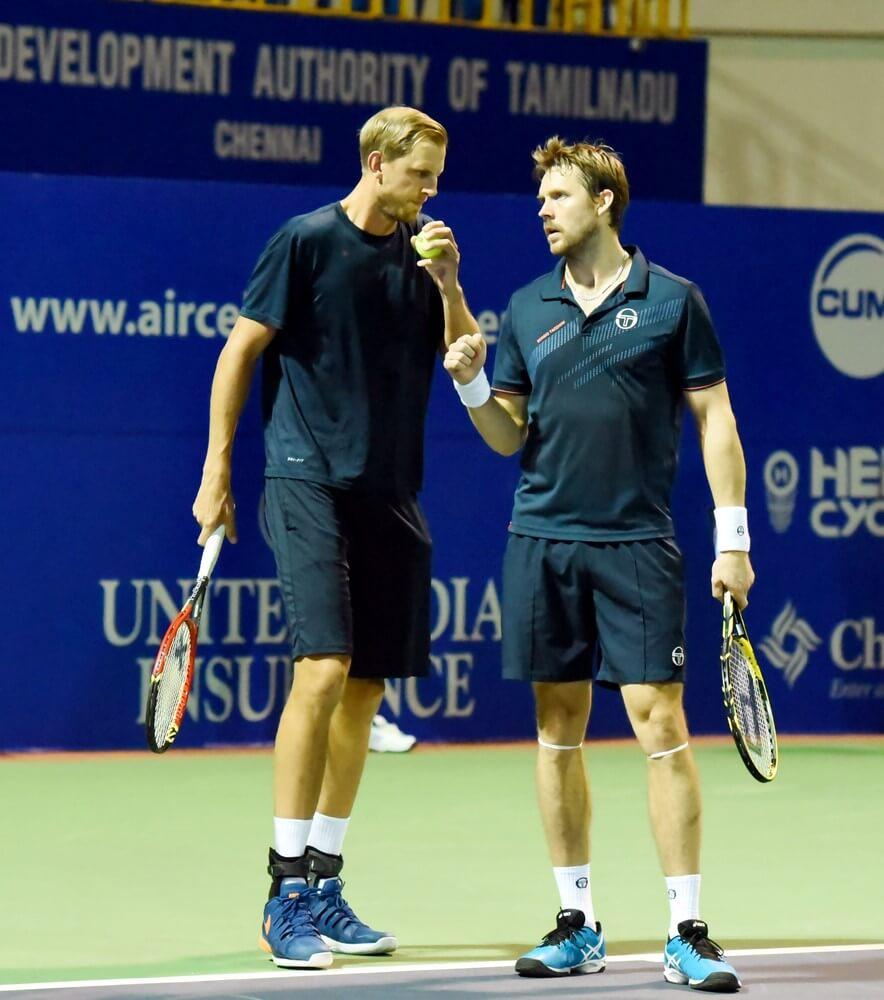 Andreas Siljestrom and Johan Brunstrom