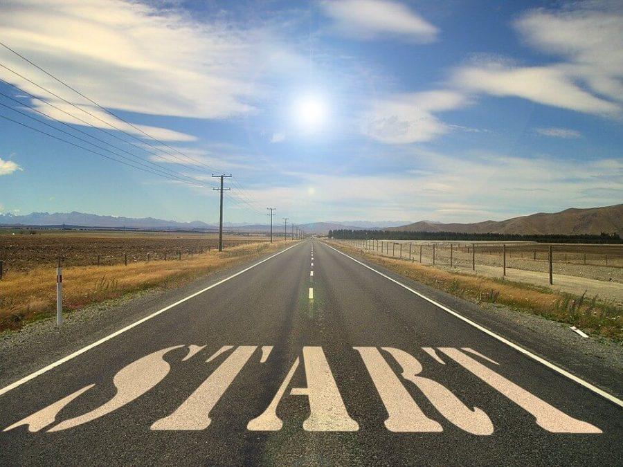 Beginning Road