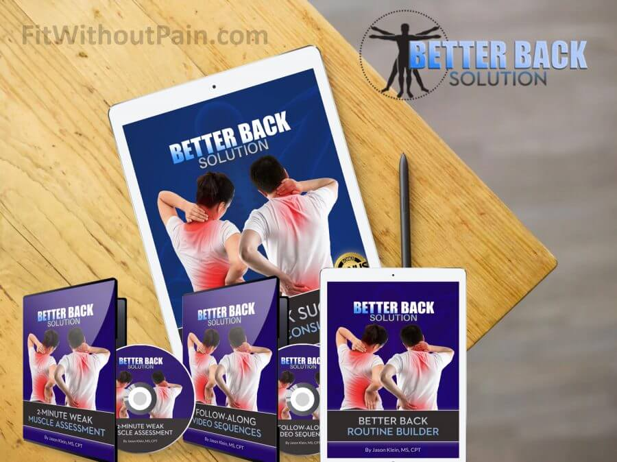 Better Back Solution Product package