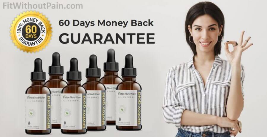 Biotox Gold Money Back Guarantee