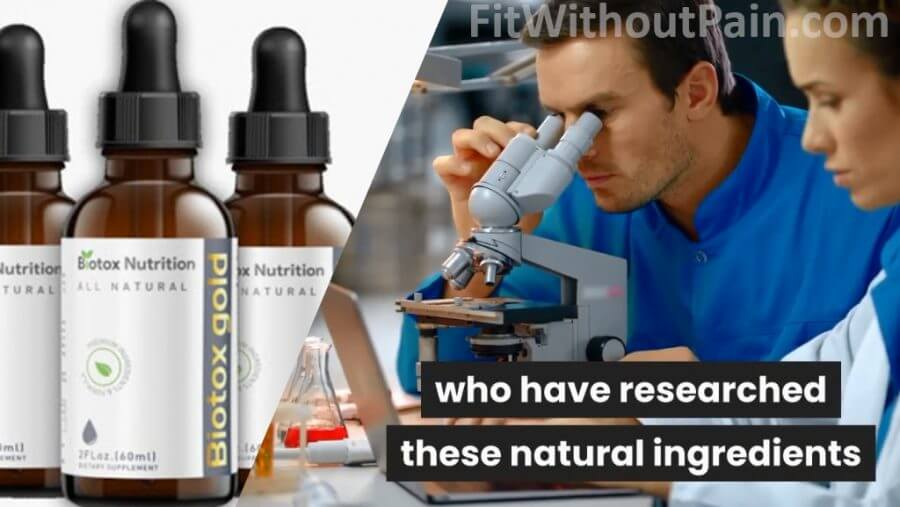 Biotox Gold Researched Natural Ingredients