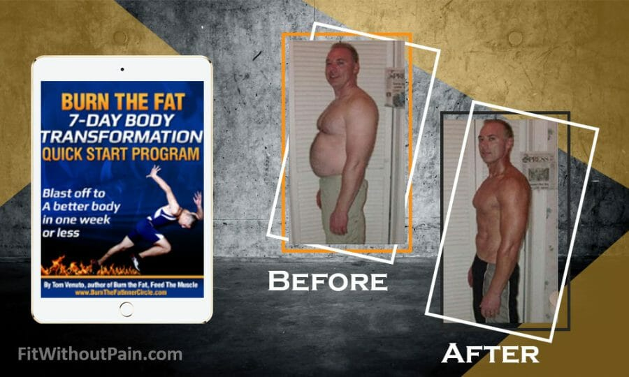 Burn the Fat Body Before and After