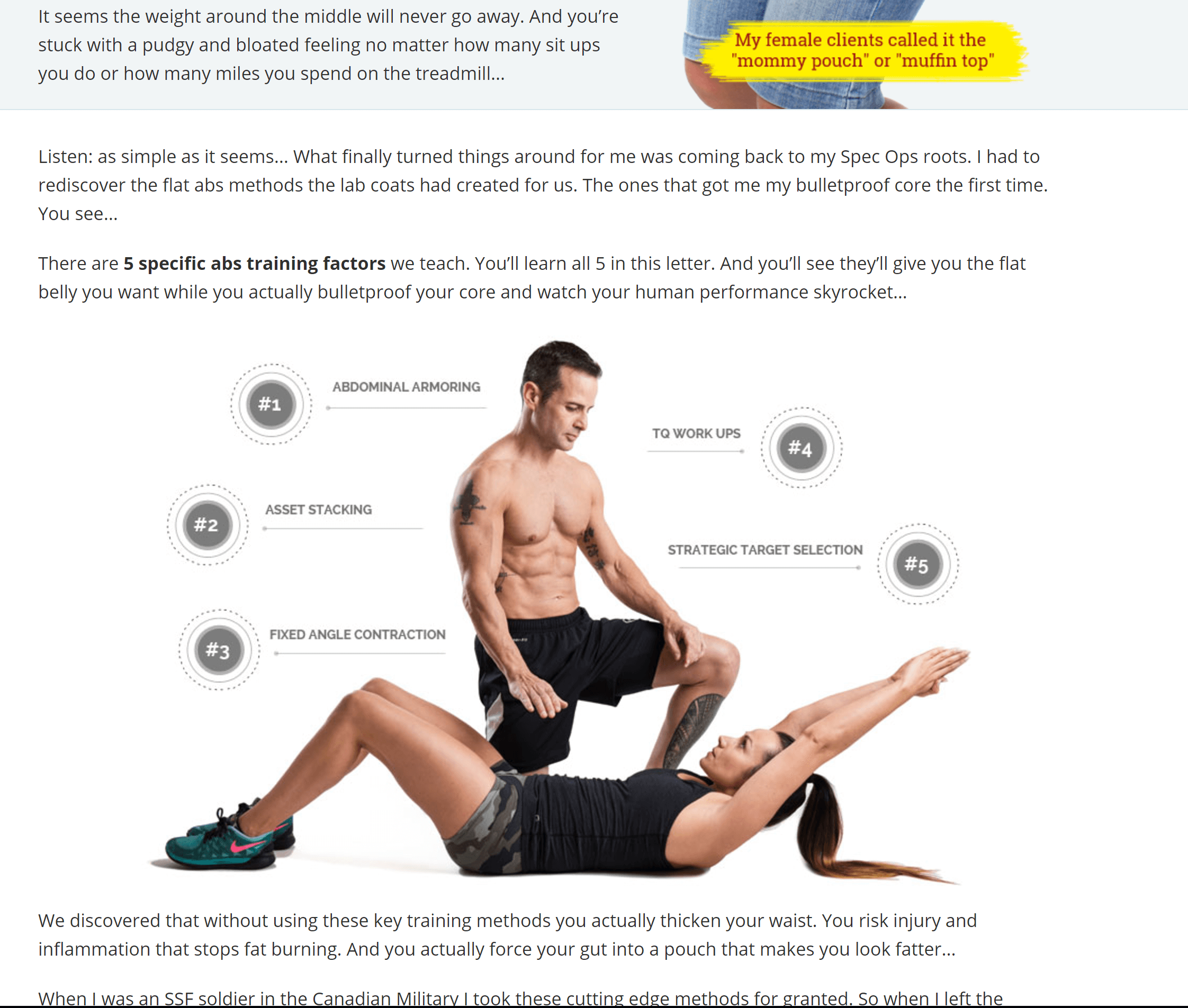 SpecForce Abs for the perfect body