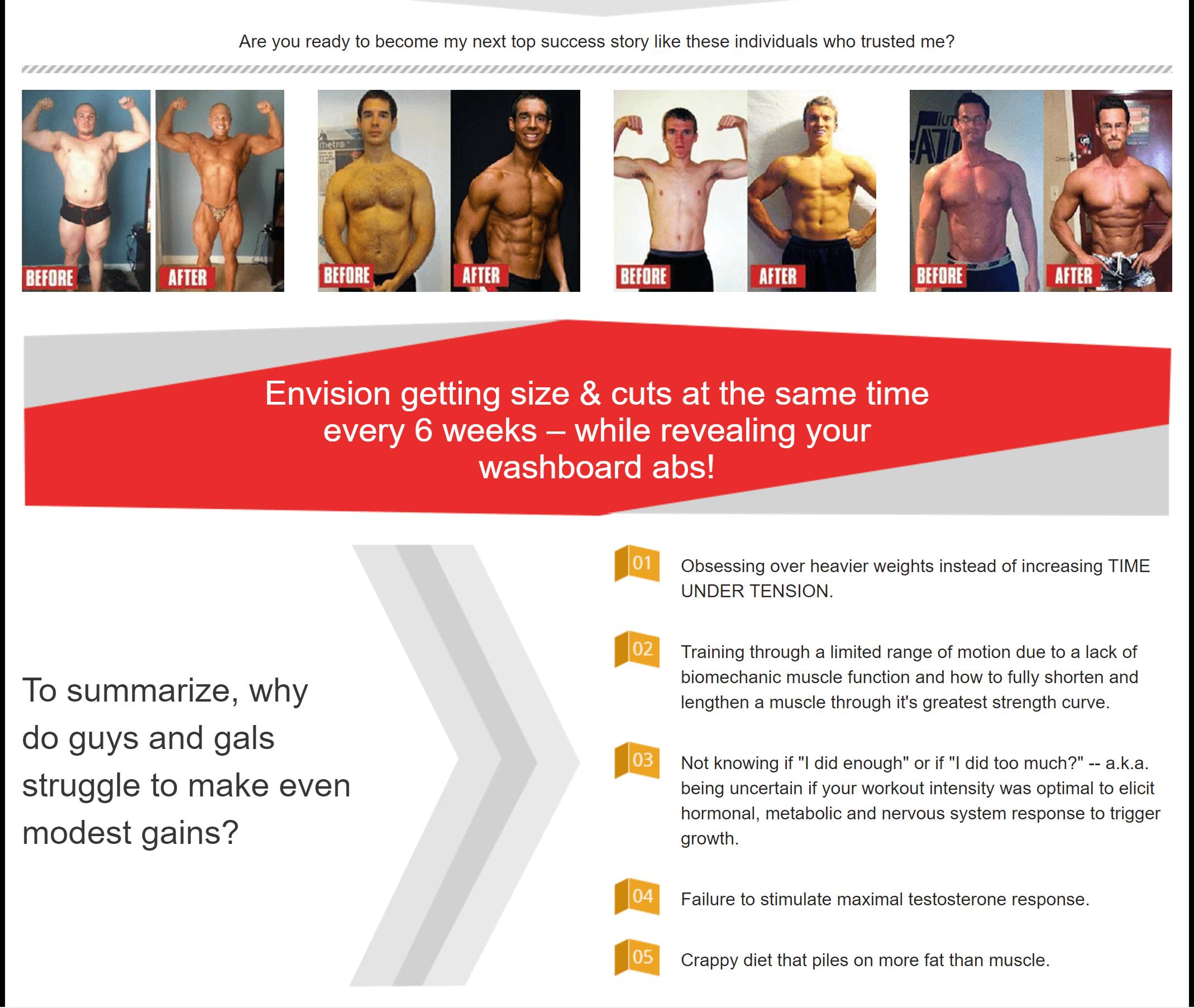 MI40 the best muscle gain program