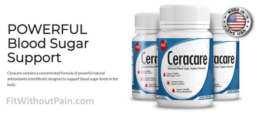Ceracare Powerful Blood Sugar Support