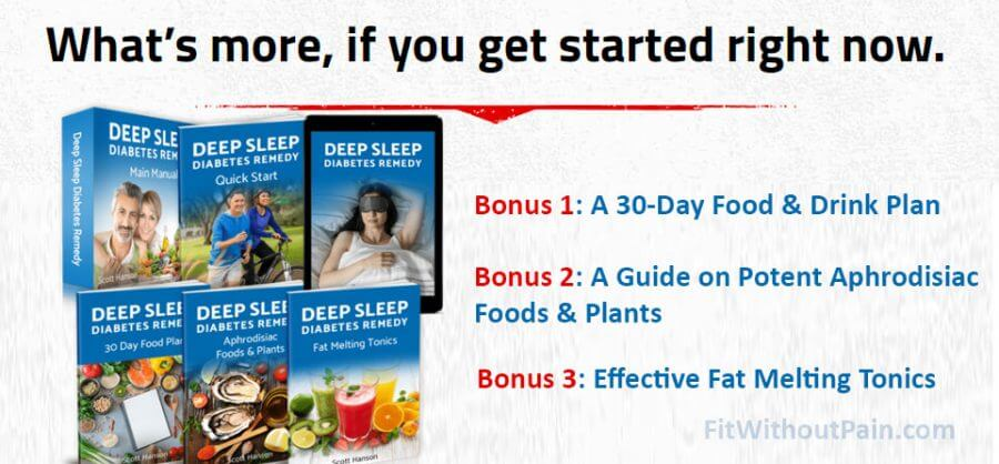Deep Sleep Diabetes Remedy Bonus Package
