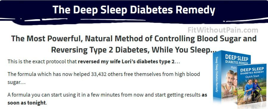 Deep Sleep Diabetes Remedy Natural Method