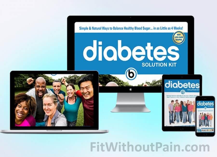 Diabetes Solution Kit Product Mockup