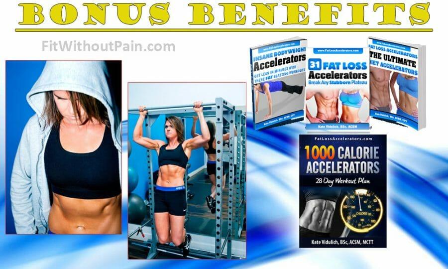 Fat Loss Accelerators Bonus Benefits