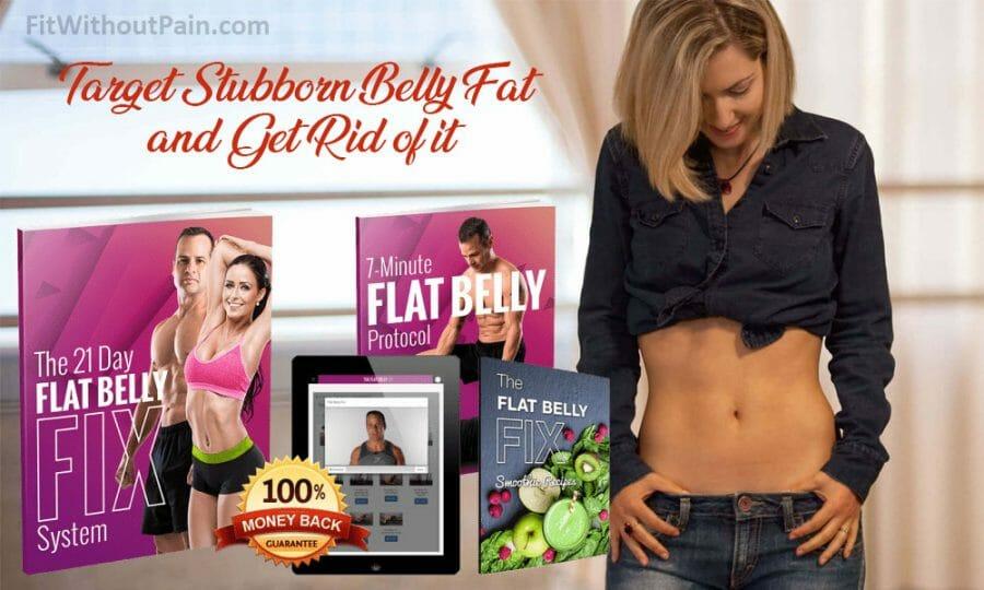 Flat Belly Fix Target Stubborn Belly Fat