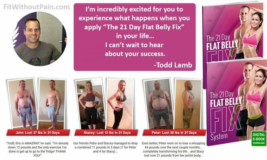 Flat Belly Fix Todd Lamb
