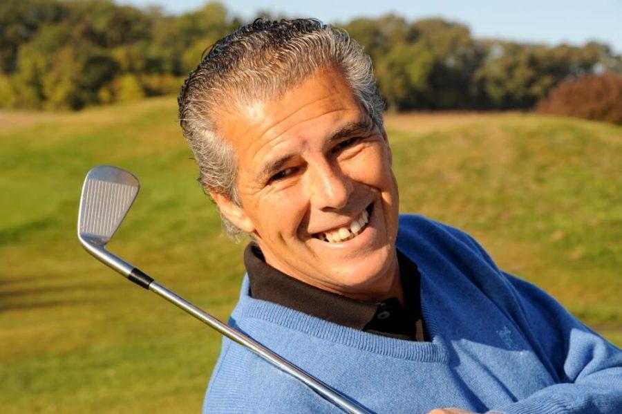 Golfer Smiling