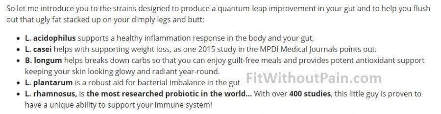 Gutamin7 Product Formula