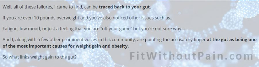 Gutamin7 Track back to your Gut