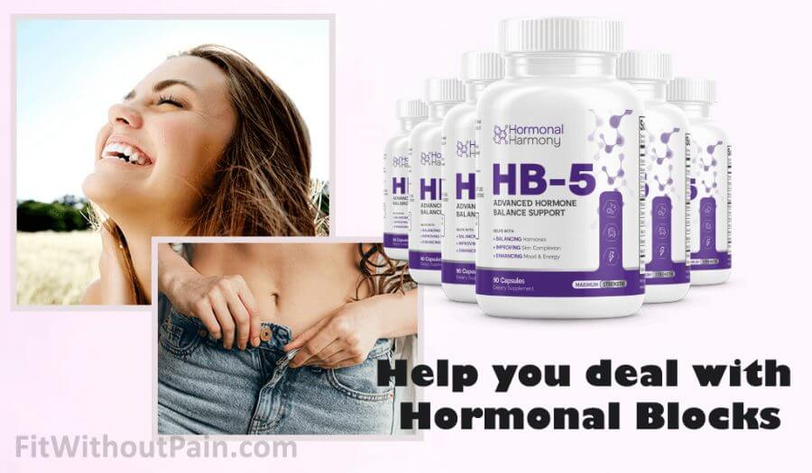 Hormonal Harmony HB5 Help you deal with Hormonal Blocks