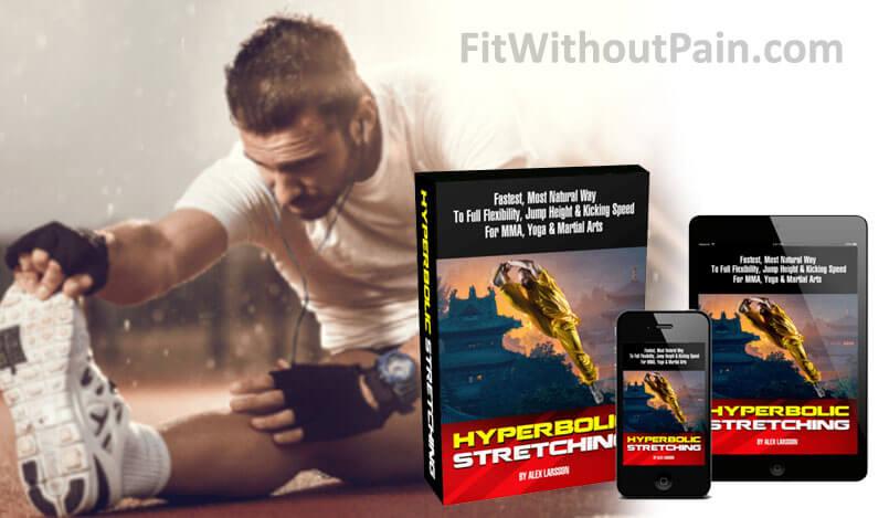 Hyperbolic Stretching Program Man doing Exercise