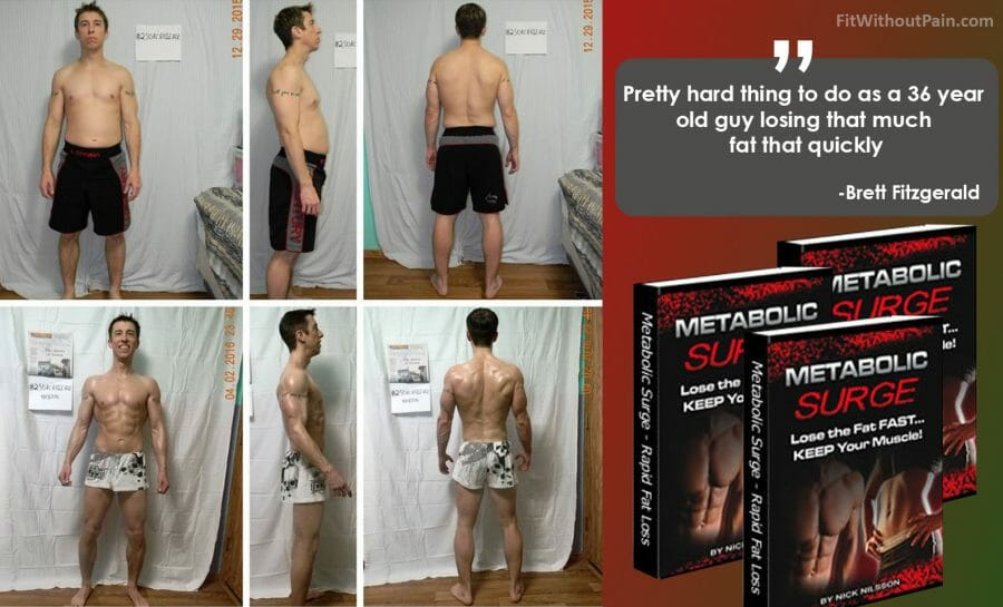 Metabolic Surge Rapid Fat Loss Testimonial