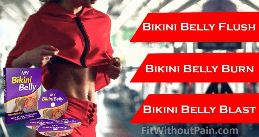My Bikini Belly Fight Program Exercises