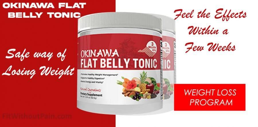 Okinawa Flat Belly Tonic Safe way of Losing Weight