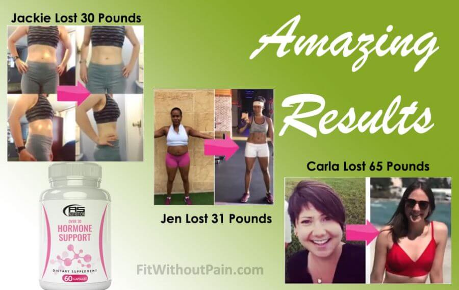 Over 30 Hormone Support Amazing Results