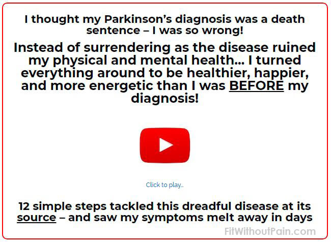 Parkinsons Protocol Clickable Image