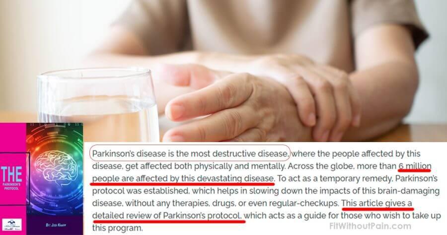 Parkinsons Protocol Destructives