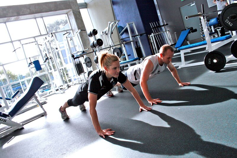 Personal Training at a Gym