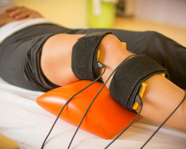 Physio treatment with electrical stimulation