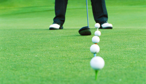 Practice-golf