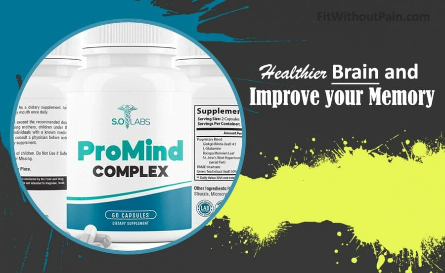 Promind Complex Healthier Brain and Improve your Memory
