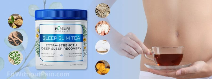 PureLife Organics Flat Belly Tea Ingredients of the Product