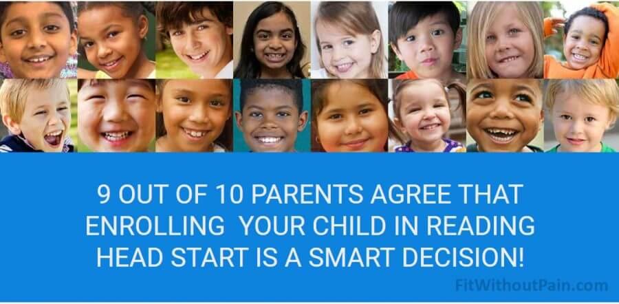 Reading Head Start Children who used the program