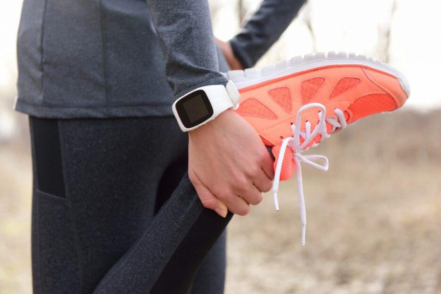 Running stretching