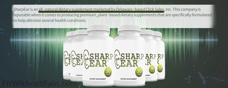 Sharpear Dietary Supplement All Natural