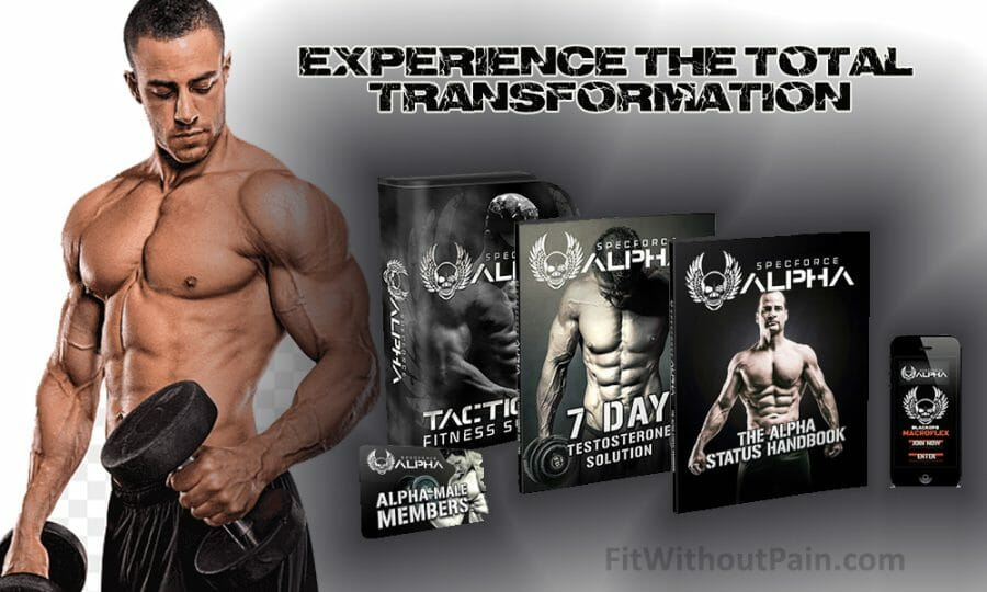Specforce Alpha Experience the Total Transformation