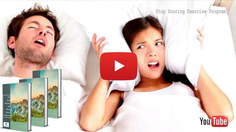Stop Snoring Exercise Program Clickable Image